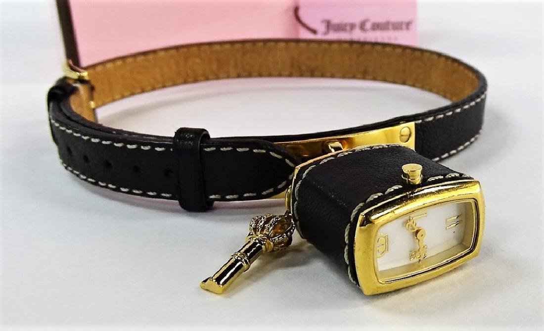 JUICY COUTURE LEATHER WRAP BRACELET NEW IN BOX - 3