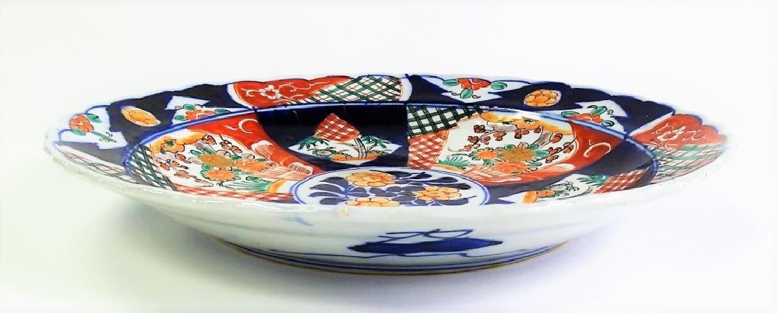 YAMATOKU JAPANESE IMARI PORCELAIN CHARGER - 2