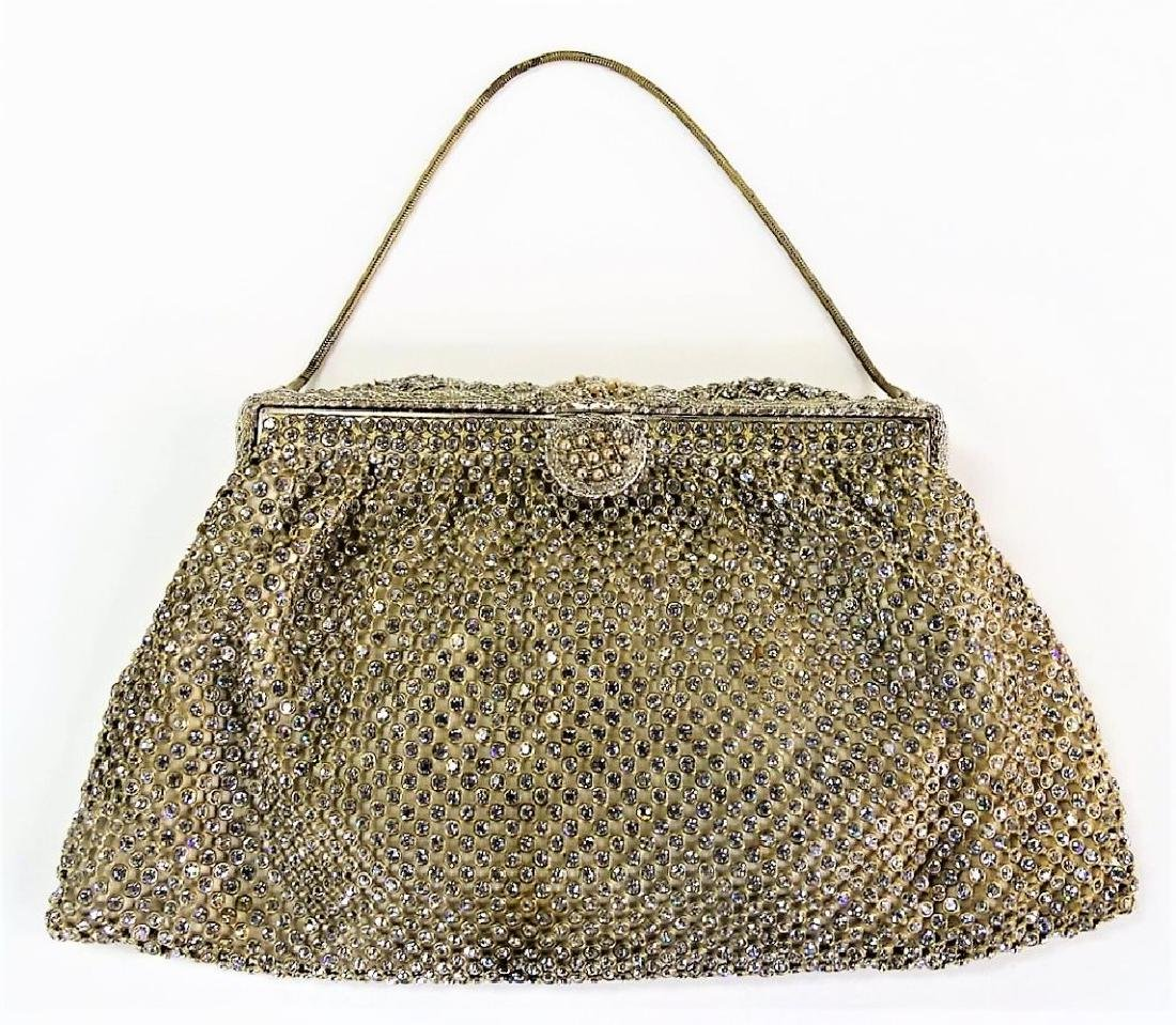 SAKS FIFTH AVENUE VTG BEADED EVENING BAG