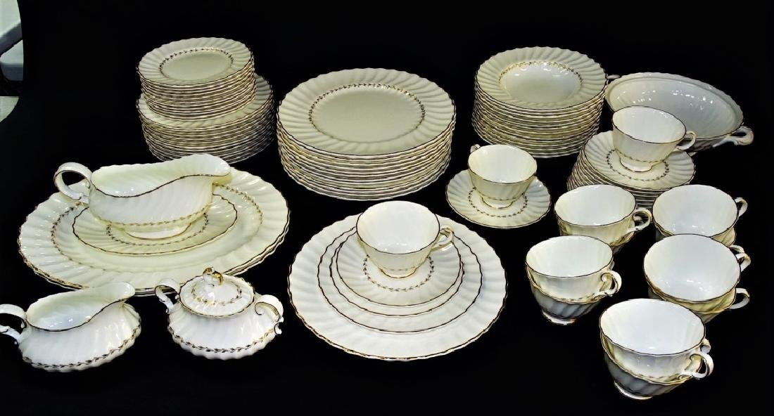 85PC ROYAL DOULTON PORCELAIN DINNERWARE SET