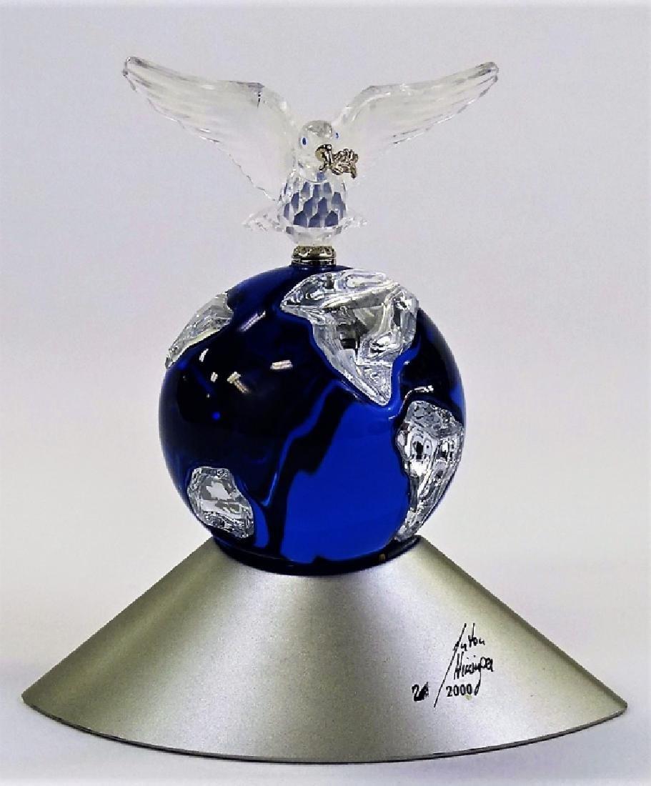 SWAROVSKI CRYSTAL PLANET 2000 MILLENIUM GLOBE