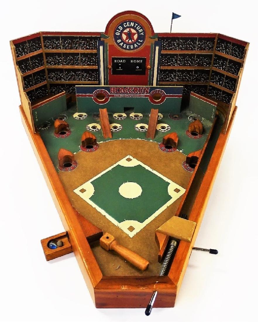 OLD CENTURY BASEBALL TABLE TOP PINBALL ARCADE