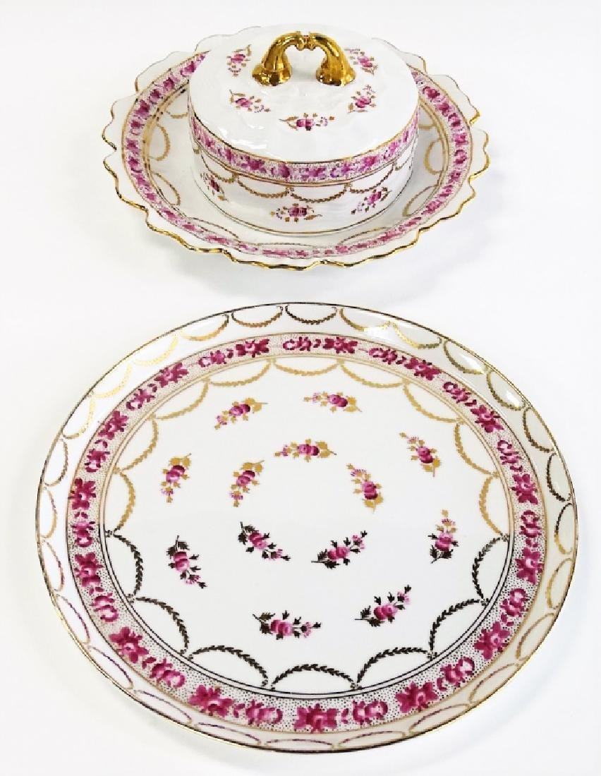 TWO H/P CONTINENTAL PORCELAIN SERVING ITEMS