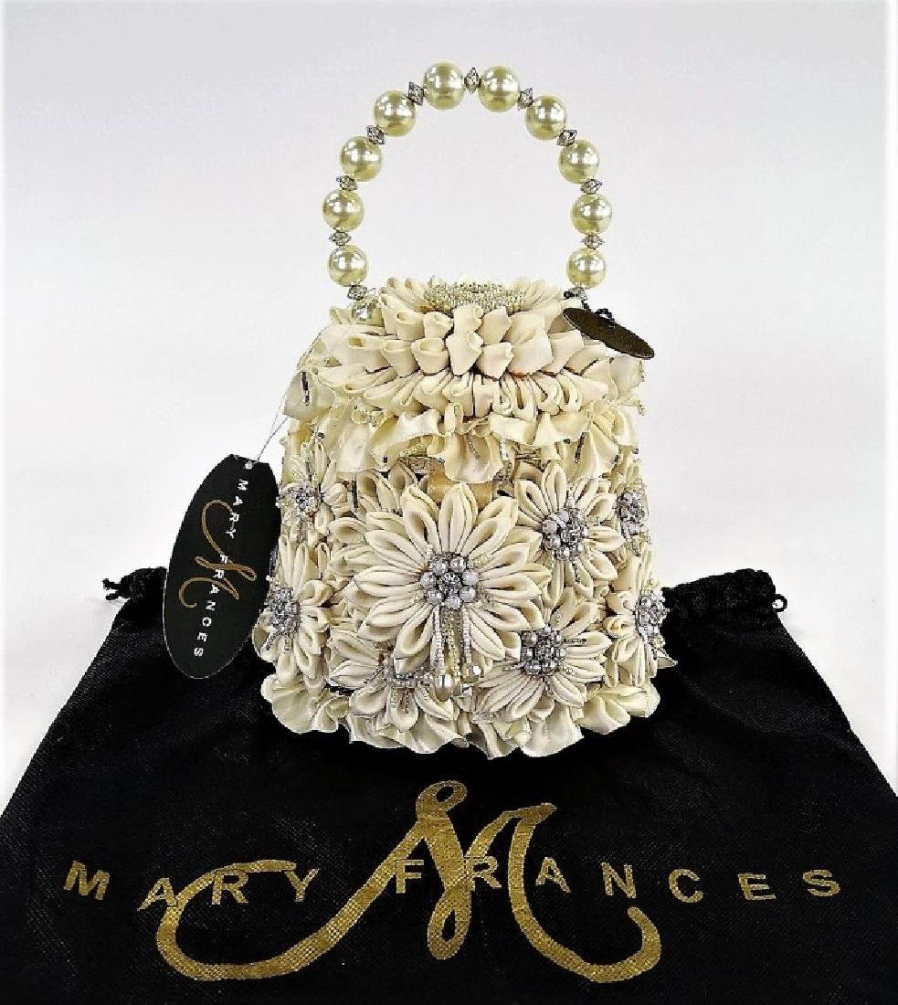 VINTAGE MARY FRANCES FLORAL WEDDING HANDBAG