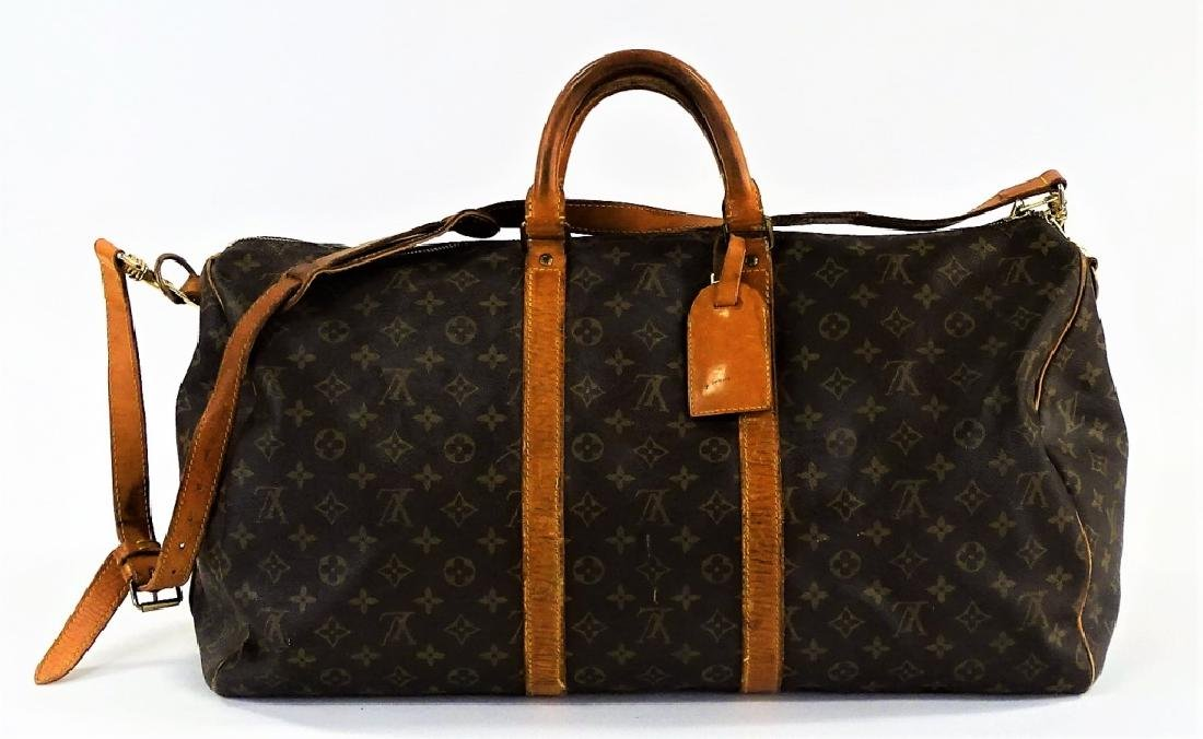 VINTAGE LOUIS VUITTON MONOGRAM CARRY-ON DUFFEL BAG