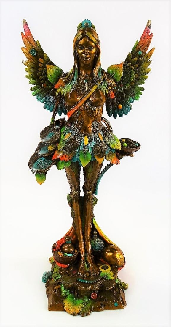 NANO LOPEZ 'MARIA & THE SEEDS' BRONZE SCULPTURE