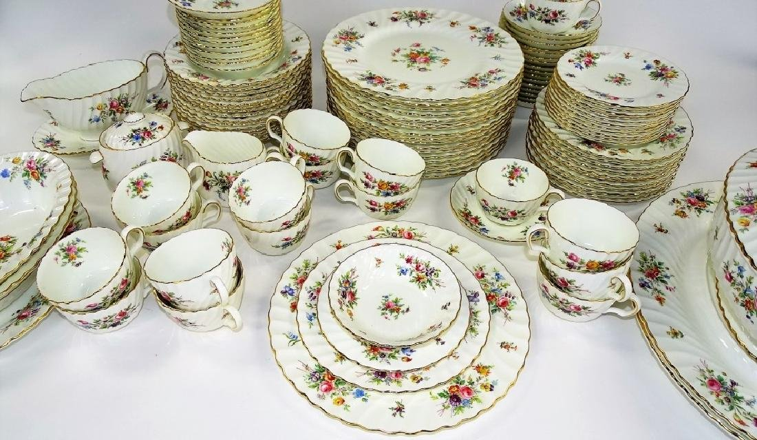 113PC SET MINTON ENGLISH PORCELAIN DINNERWARE