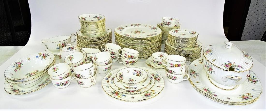 113PC SET MINTON ENGLISH PORCELAIN DINNERWARE - 2
