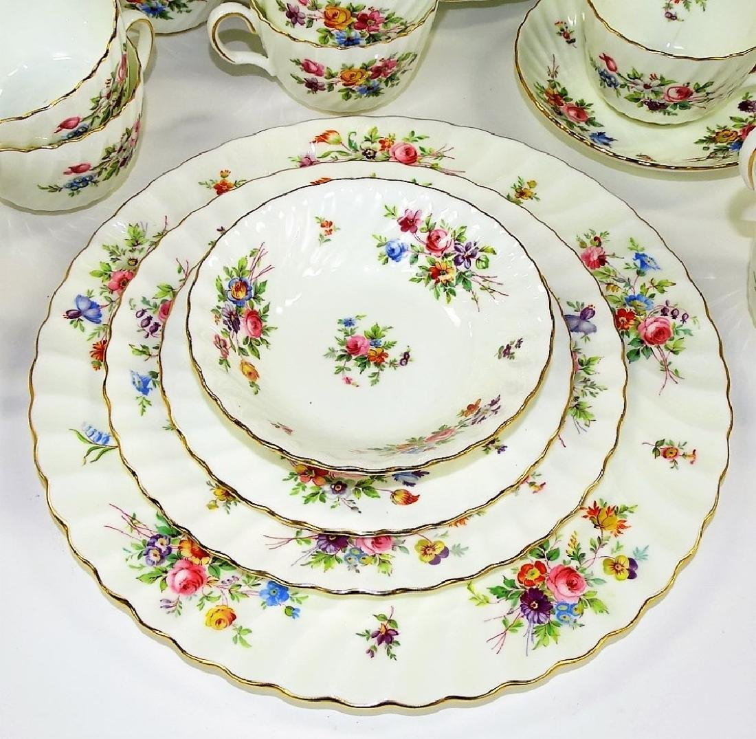 113PC SET MINTON ENGLISH PORCELAIN DINNERWARE - 3