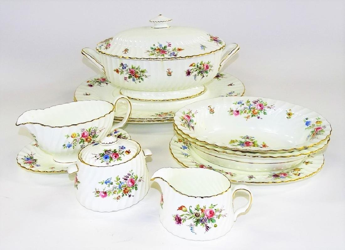 113PC SET MINTON ENGLISH PORCELAIN DINNERWARE - 4