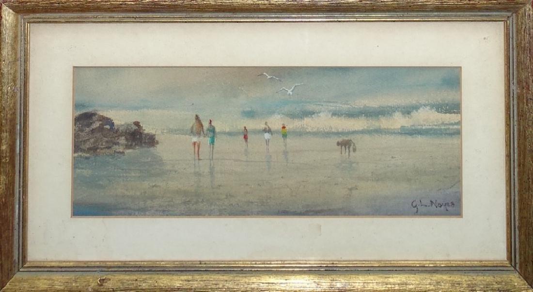 GEORGE LOFTUS NOYES AMERICAN 1864-1964 WATER COLOR
