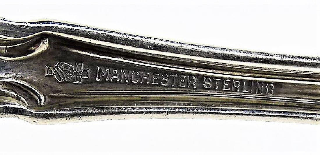 LOVELY MANCHESTER STERLING SERVING SPOON - 3