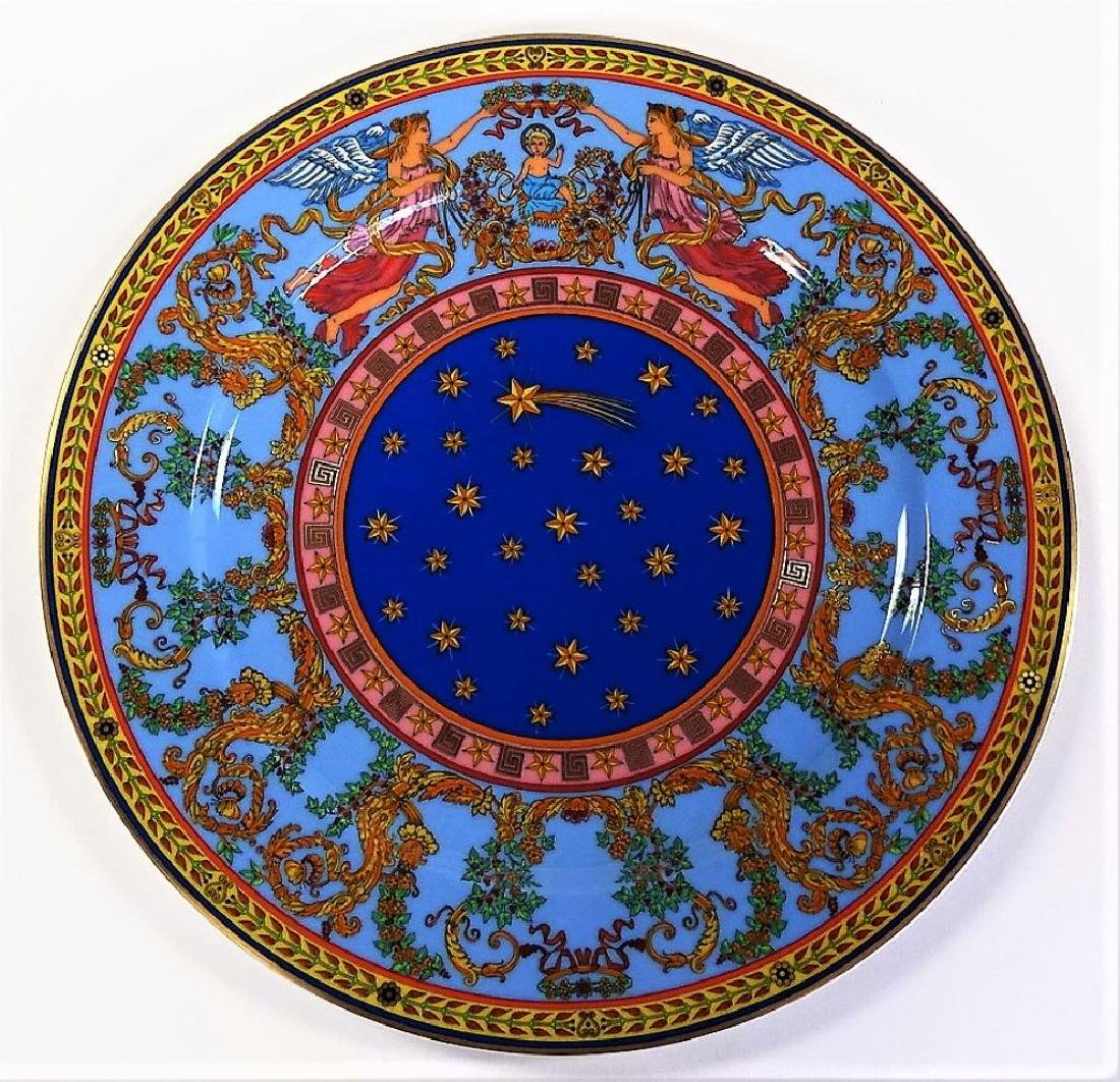 VERSACE ROSENTHAL 1997 LARGE PLATE NEW IN BOX - 2
