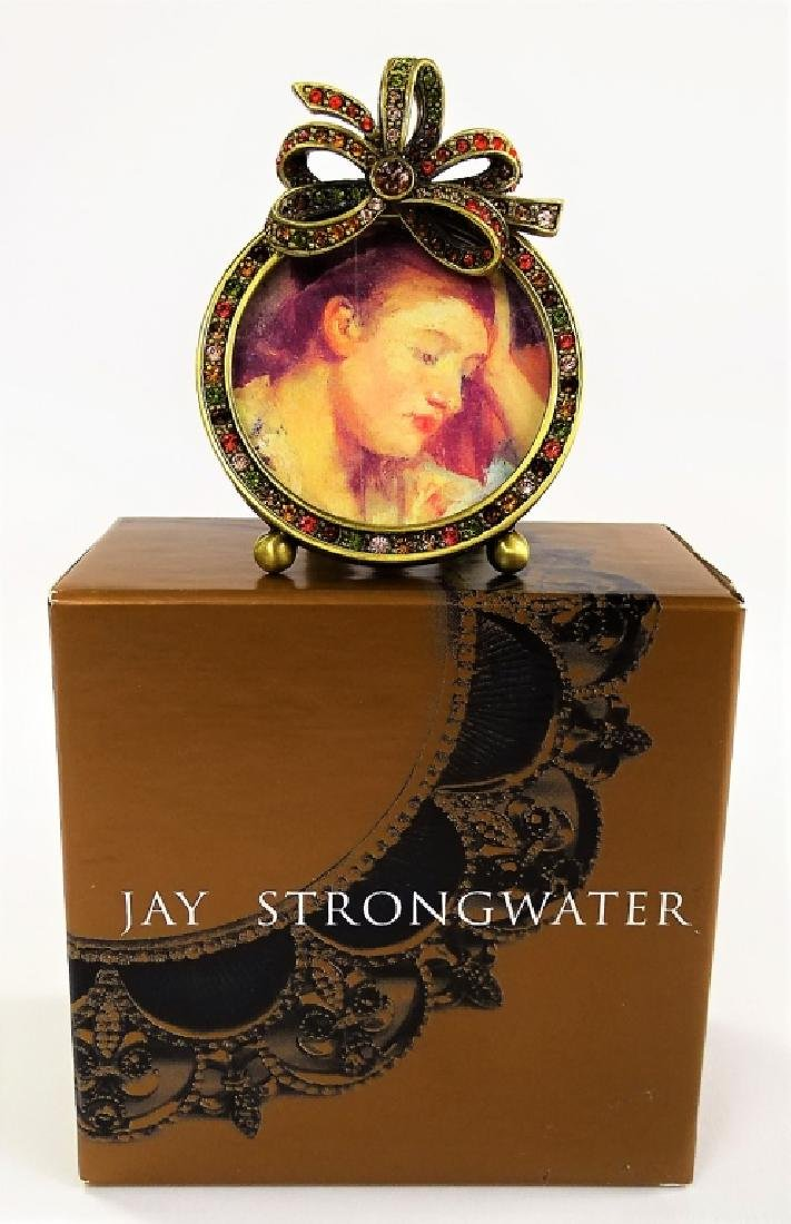 JAY STRONGWATER JEWELED & ENAMELED PICTURE FRAME