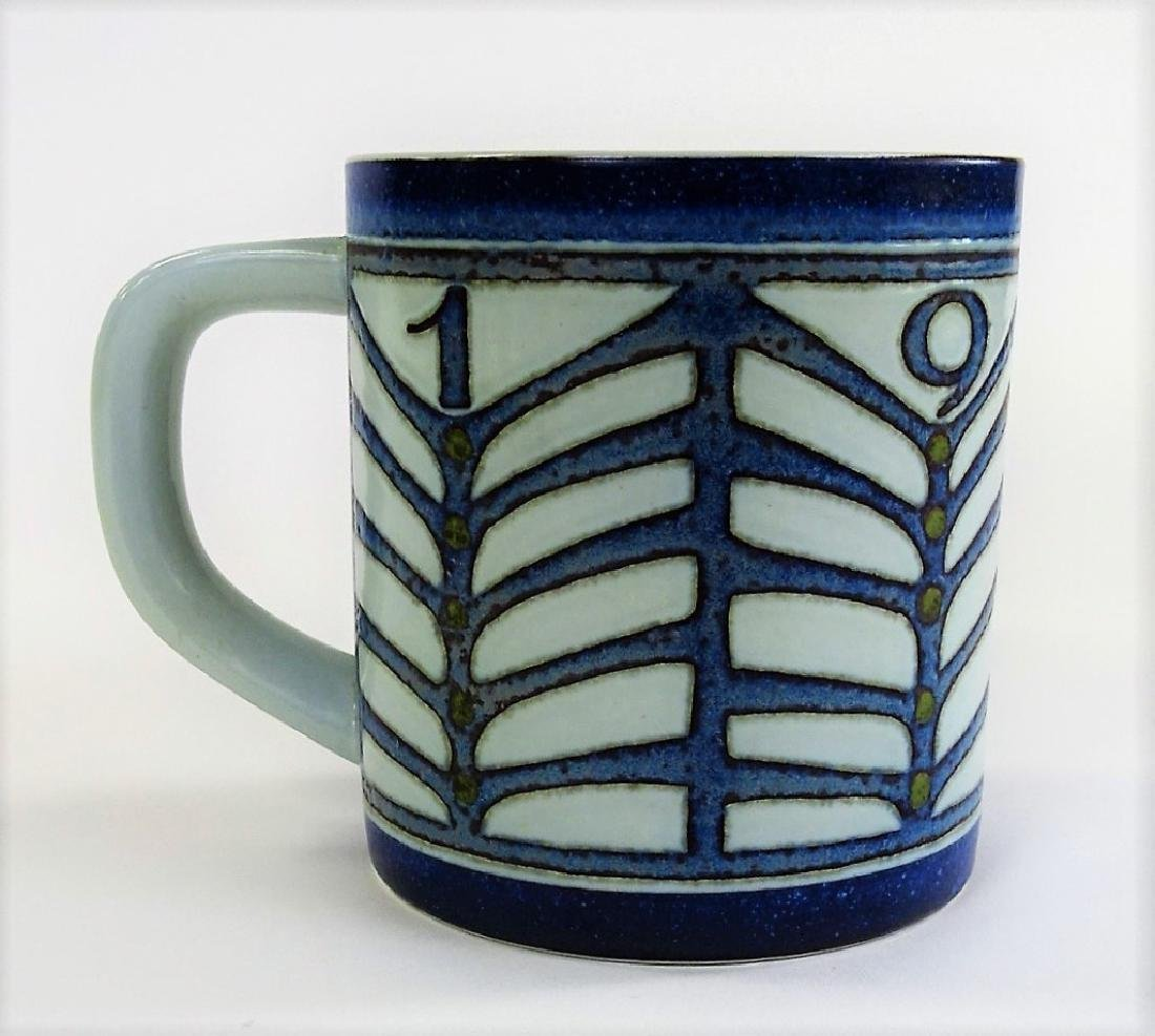 LARGE ROYAL COPENHAGEN PORCELAIN FAIENCE MUG