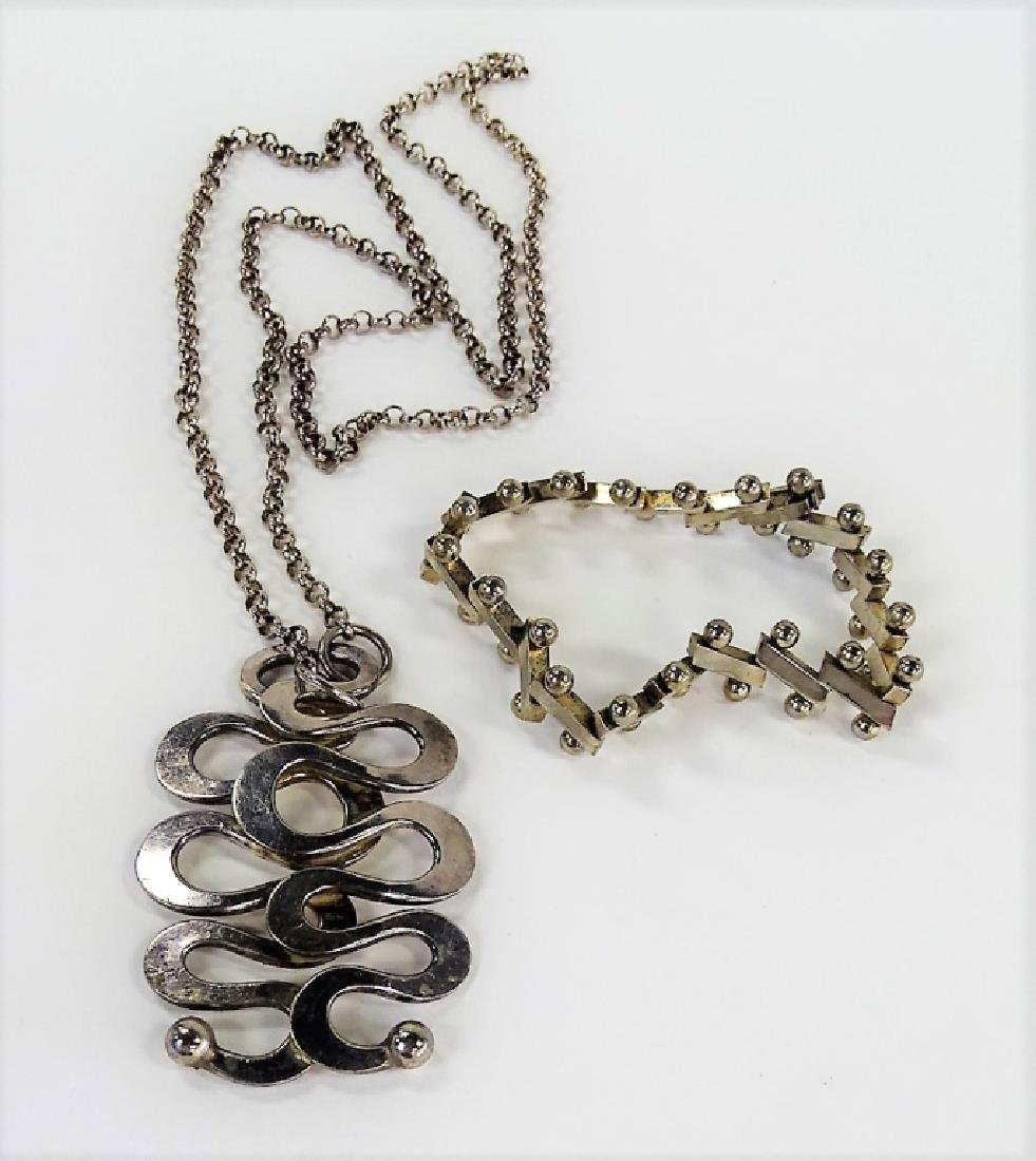 NORWEGIAN & MEXICAN STERLING SILVER JEWELRY