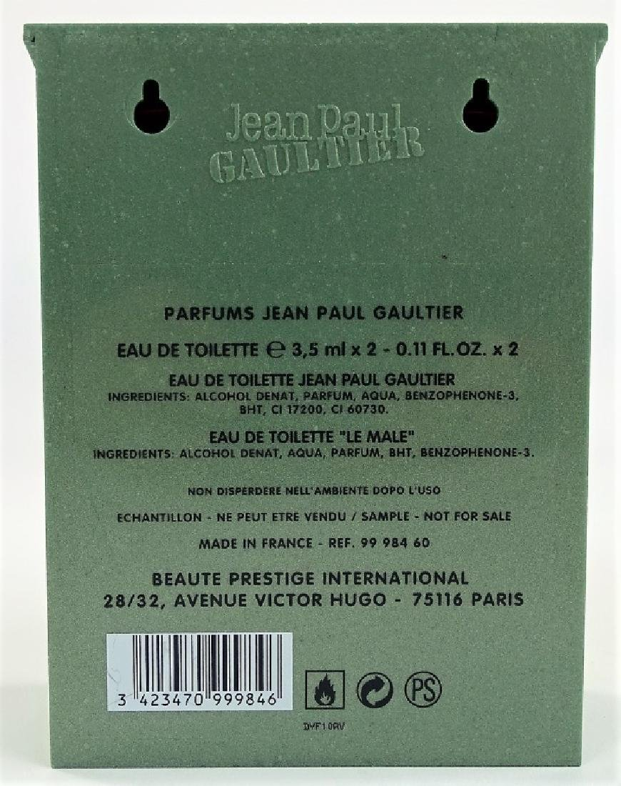 JEAN PAUL GAUTIER LE MALE EAU DE TOILETTE SET - 3