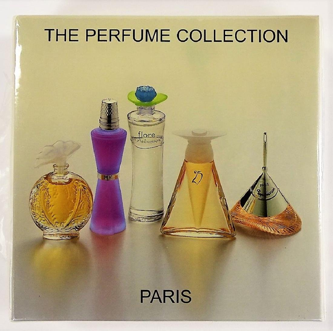 THE PERFUME COLLECTION 5 MINIATURE BOTTLE SET