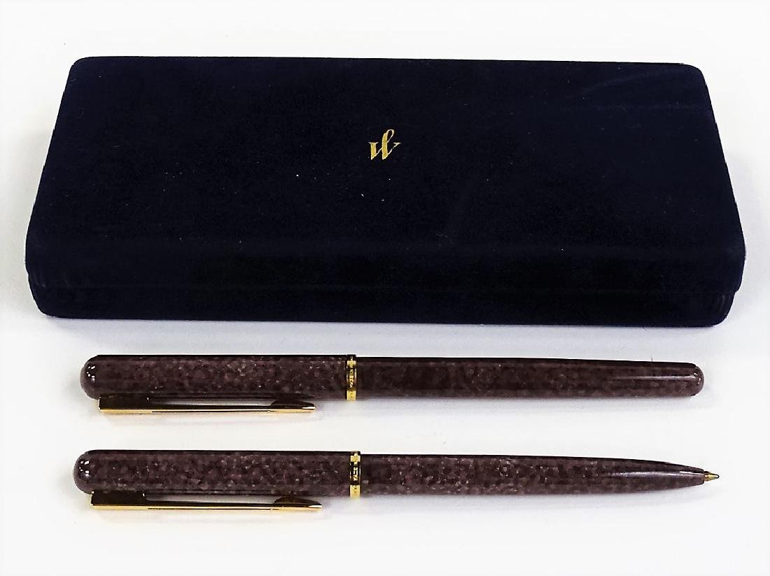 WATERMAN PARIS DUAL LUXURY PEN SET - 2