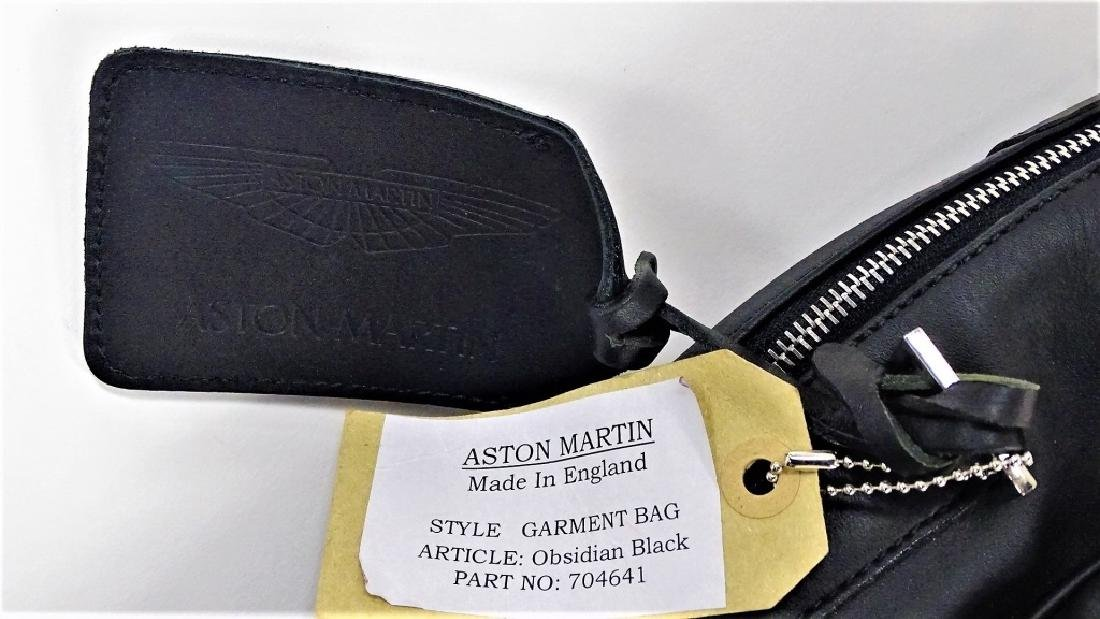 ASTON MARTIN OBSIDIAN LEATHER GARMENT BAG - 2