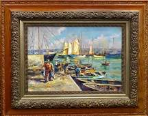 OIL/CANVAS PAINTING ACCREDITED TO EDOUARD CORTES