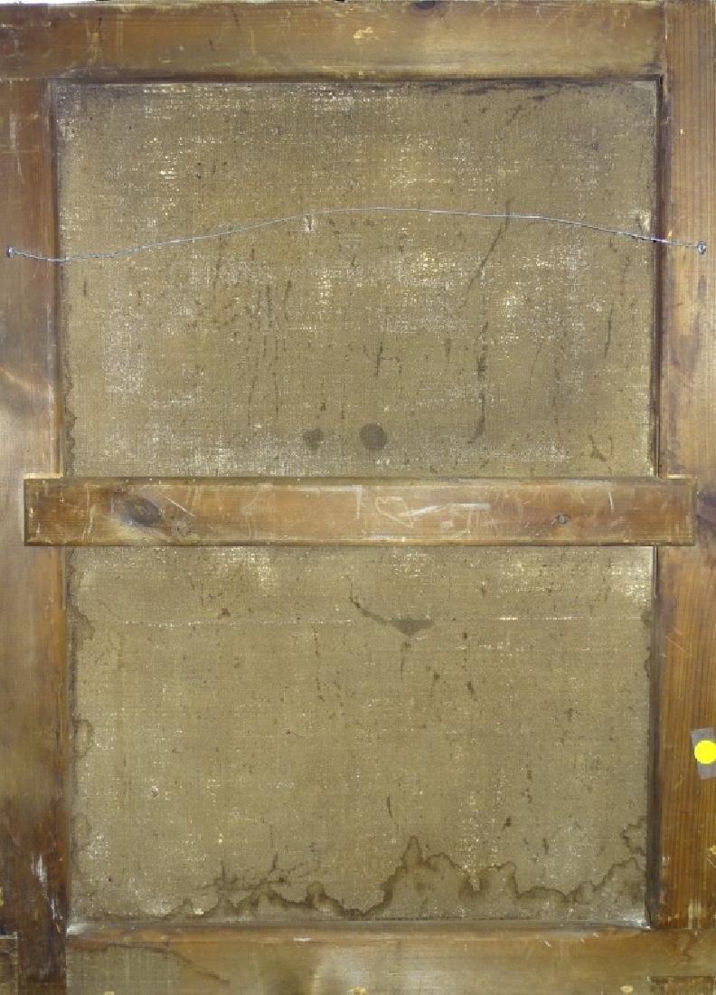19TH CENTURY O/C SIGNED GUTIERREZ POSSIBLY SAL - 4