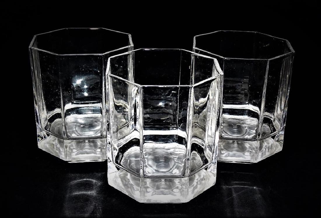 VERSACE MEDUSA ROSENTHAL CRYSTAL TUMBLER GLASSES - 3