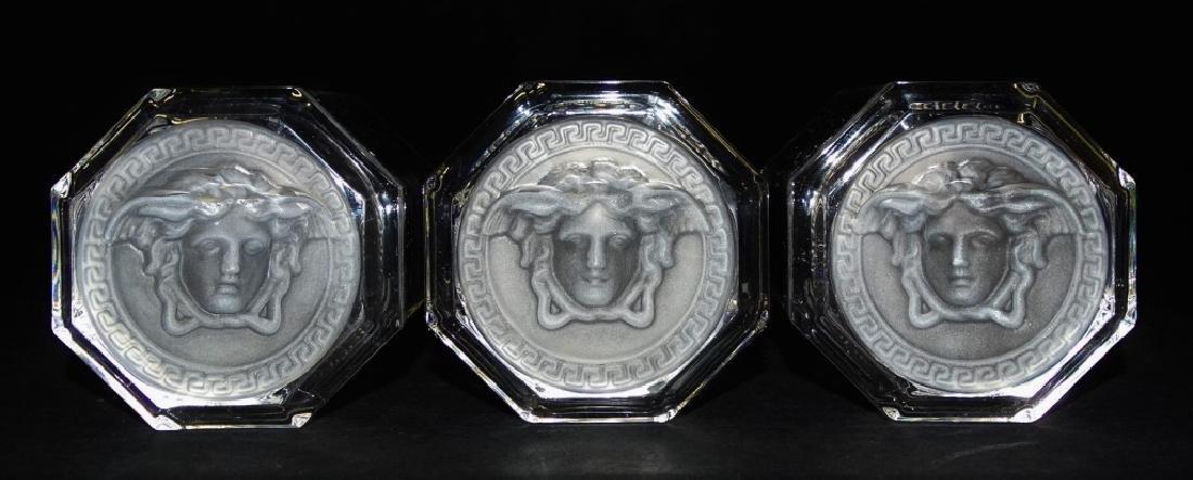 VERSACE MEDUSA ROSENTHAL CRYSTAL TUMBLER GLASSES - 4