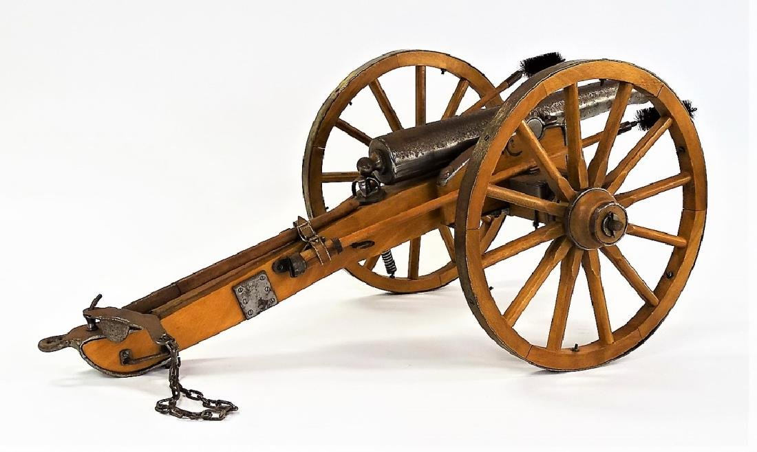WORKING REPLICA OF SPANISH AMERICAN WAR CANNON - 2
