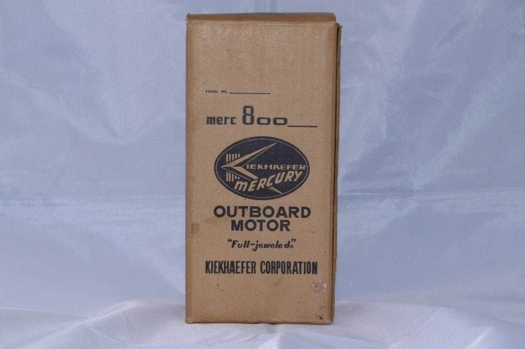NEW OLD STOCK MERCURY 800 TOY  OUTBOARD MOTOR NEW - 4