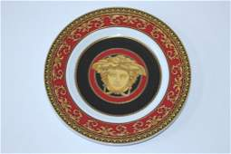 SIX VERSACE ROSENTHAL BREAD & BUTTER CHINA PLATES