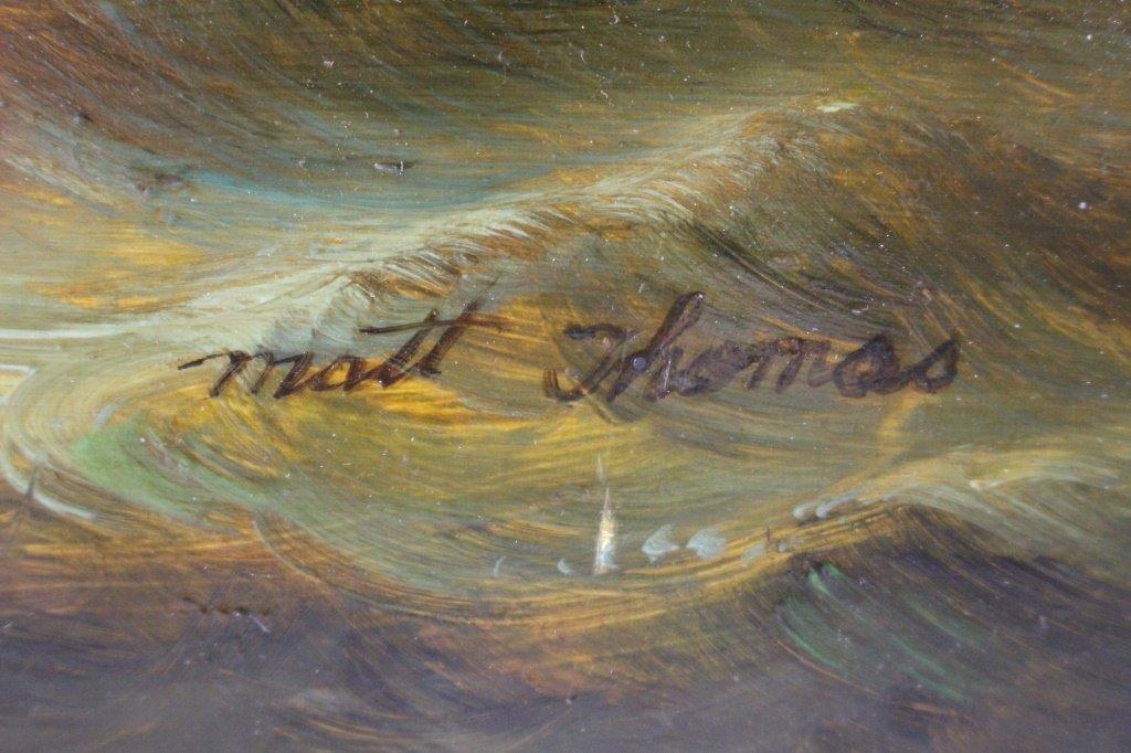 MATT THOMAS ENGLISH SEASCAPE AND BOAT PAINTER - 2