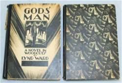 2 BOOKS MADMAN DRUM GODS MAN LYND WARD