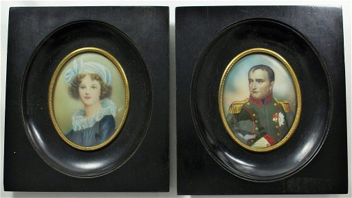 NAPOLEONIC PORTRAIT & OTHER BY ARTIST DIMARC
