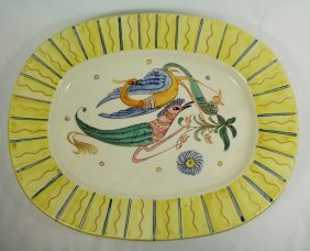 19th Century Continental Faience Platter