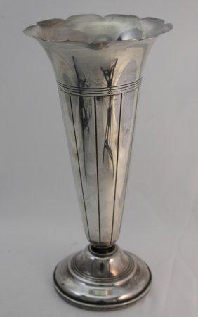 Large Gorham Sterling Silver Vase