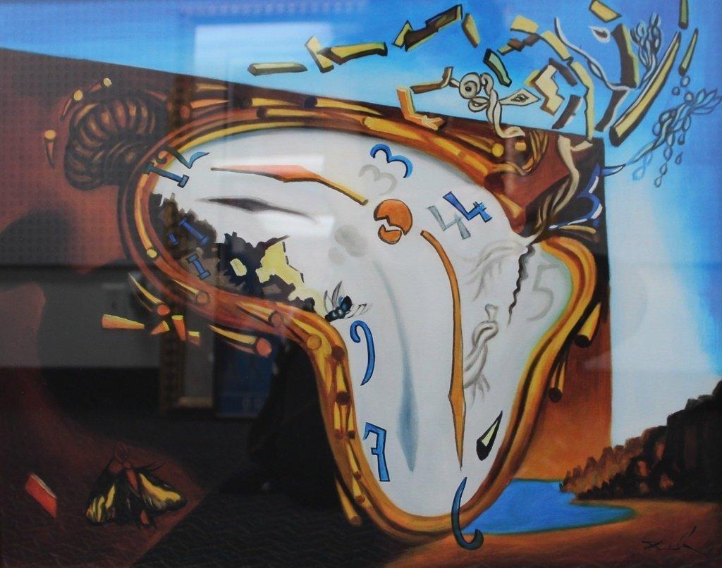 Salvador Dali Melting Clocks SALVADOR DALI &...