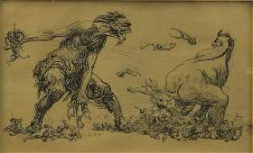 HEINRICH KLEY MUSEUM LITHOGRAPH 19TH CENTURY