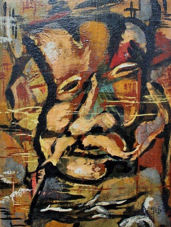 RODOLFO NIETO OIL ON BOARD (1938-1988)