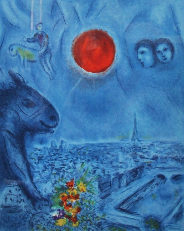 MARC CHAGALL ORIGNIAL LITHOTHGRAPH