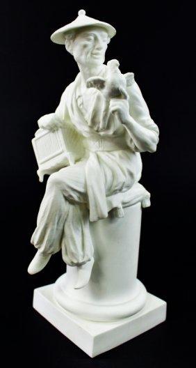 Royal Worcester A Azori Parian Figurine L' Oiseau