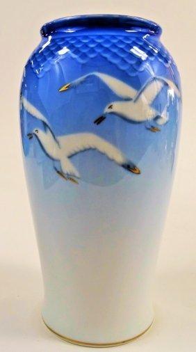 Vintage Bing & Grondahl Copenhagen Seagull Vase