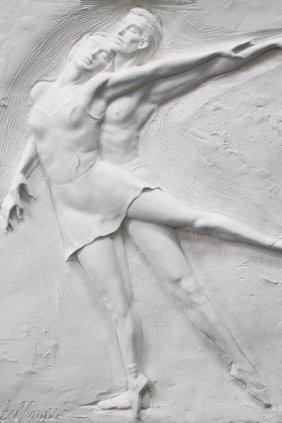 Large Bill Mack Titled Ballerina Sculpture