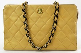 Vintage Chanel Grand Shopper Tote Bag