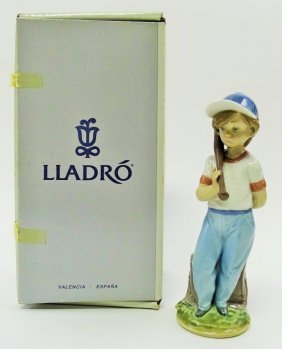 Lladro Porcelain 'can I Play'#7610