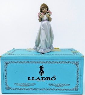 """Lladro """"spring Bouquets"""" 7603 3rd Society Piece"""