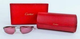 Cartier Womans Sunglasses Panthere Bandeau