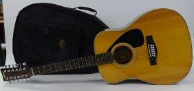 Yamaha 12 String Acoustic Guitar Model Fg-312
