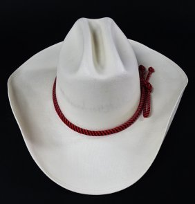 White Cowboy Hat Made In Mexico