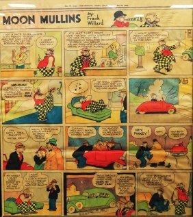 Moon Mullins Frank Willard Sunday Colored Comic
